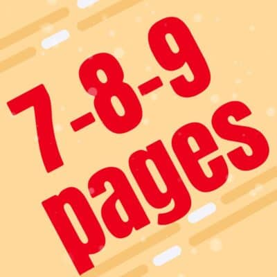 Urgent Large 7-9 Pages