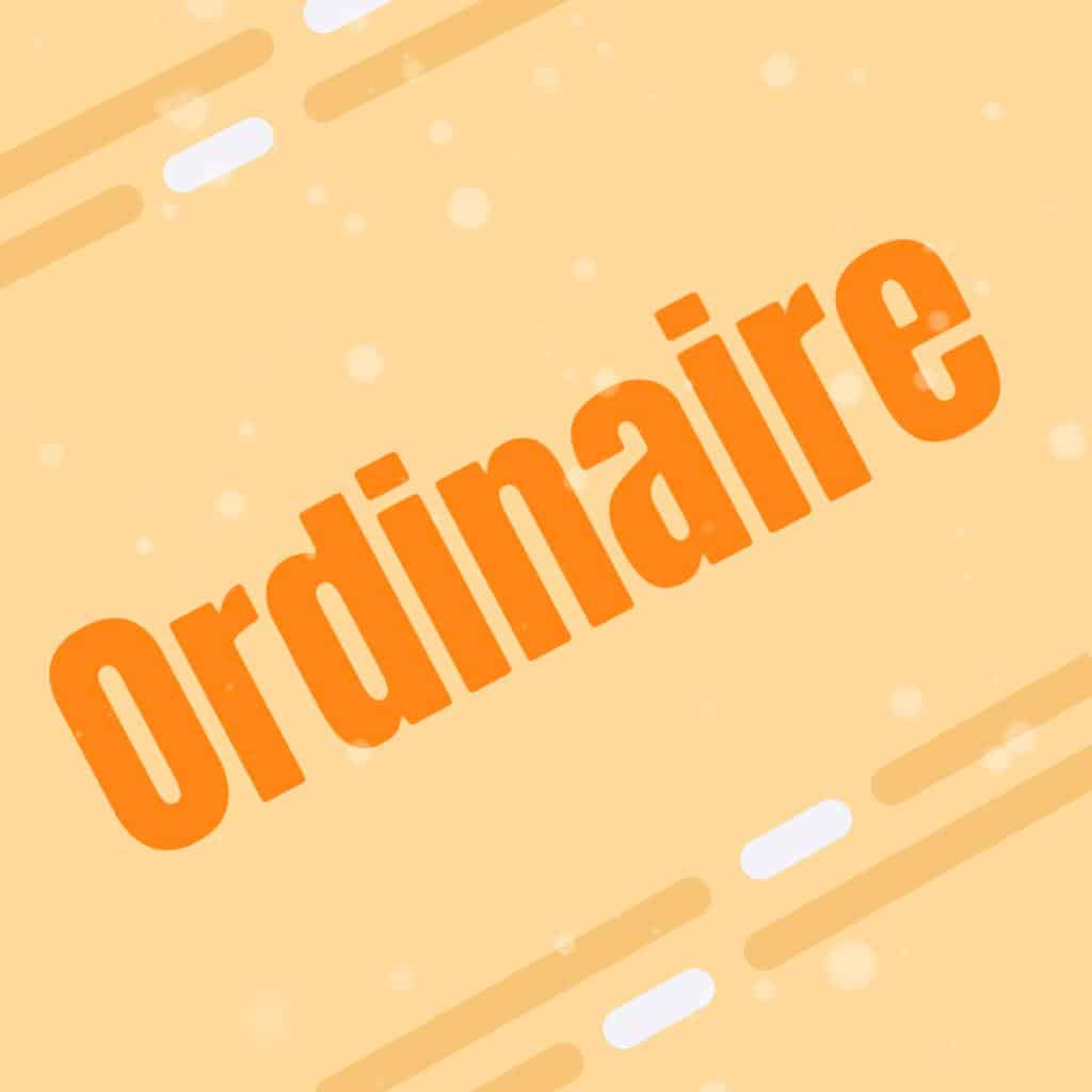 Ordinaire Court 1-3 pages